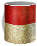 Grunge Indonesia Flag Coffee Mug