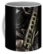 Grunge Industrial Machinery Coffee Mug by Olivier Le Queinec
