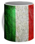 Grunge Italy Flag Coffee Mug