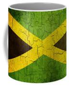 Grunge Jamaica Flag Coffee Mug