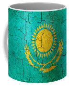 Grunge Kazakhstan Flag Coffee Mug