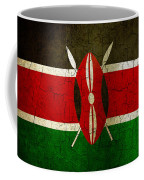 Grunge Kenya Flag Coffee Mug