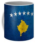 Grunge Kosovo Flag Coffee Mug