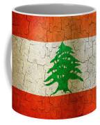 Grunge Lebanon Flag Coffee Mug