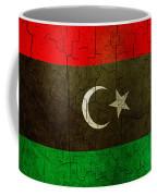 Grunge Libya Flag Coffee Mug