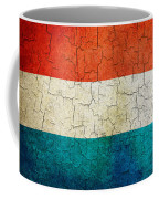 Grunge Luxembourg Flag Coffee Mug
