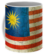 Grunge Malasia Flag  Coffee Mug