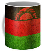 Grunge Malawi Flag Coffee Mug