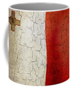Grunge Malta Flag Coffee Mug