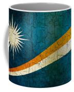 Grunge Marshall Islands Flag Coffee Mug