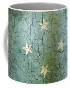 Grunge Micronesia Flag Coffee Mug