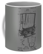 Grunge Mine Trolley Patent Coffee Mug