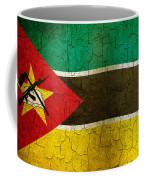 Grunge Mozambique Flag Coffee Mug