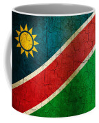 Grunge Namibia Flag Coffee Mug