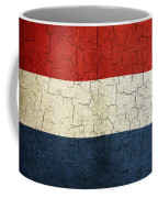 Grunge Netherlands Flag Coffee Mug