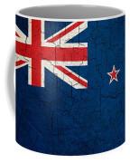 Grunge New Zealand Flag Coffee Mug