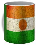 Grunge Niger Flag Coffee Mug