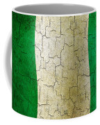 Grunge Nigeria Flag Coffee Mug