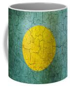 Grunge Palau Flag Coffee Mug