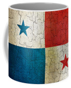 Grunge Panama Flag Coffee Mug