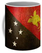 Grunge Papua New Guinea Flag Coffee Mug