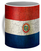 Grunge Paraguay Flag Coffee Mug