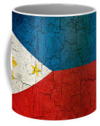 Grunge Philippines Flag Coffee Mug