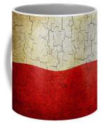 Grunge Poland Flag Coffee Mug