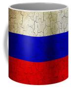 Grunge Russia Flag Coffee Mug