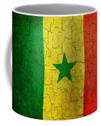 Grunge Senegal Flag Coffee Mug
