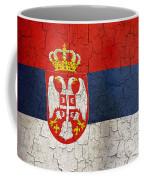 Grunge Serbia Flag Coffee Mug