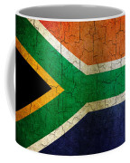 Grunge South Africa Flag Coffee Mug