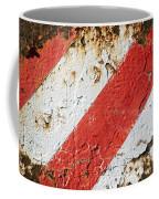 Grunge Stripe Background Coffee Mug