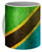 Grunge Tanzania Flag Coffee Mug