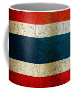 Grunge Thailand Flag Coffee Mug