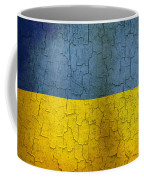 Grunge Ukraine Flag Coffee Mug