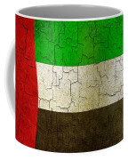Grunge United Arab Emirates Flag Coffee Mug
