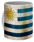 Grunge Uruguay Flag Coffee Mug