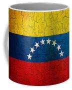 Grunge Venezuela Flag Coffee Mug