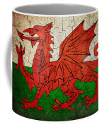 Grunge Wales Flag Coffee Mug