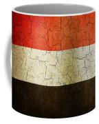 Grunge Yemen Flag Coffee Mug