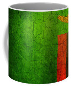 Grunge Zambia Flag Coffee Mug