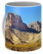 Guadalupe Peaks Coffee Mug