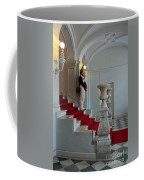 Guard At Catherine Palace In Russia Coffee Mug