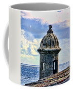 Guard Tower At El Morro Coffee Mug