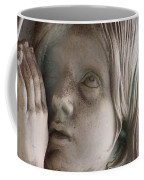 Guardian Angel With Praying Hands Coffee Mug