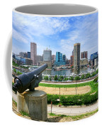 Guarding Baltimore Coffee Mug by Olivier Le Queinec