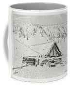 Guarding Grandpa's Cabin Coffee Mug