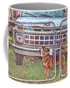 Guarding The Ford Coffee Mug
