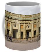 Guards Changing Shifts. Kungliga Slottet.gamla Stan. Stockholm 2 Coffee Mug